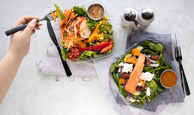 Sunterra boxed salads