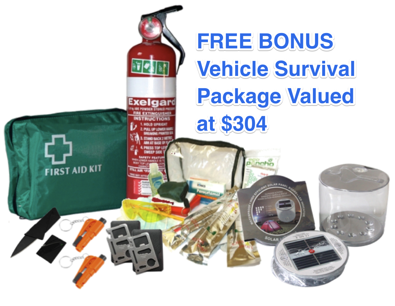 Car Survival pack