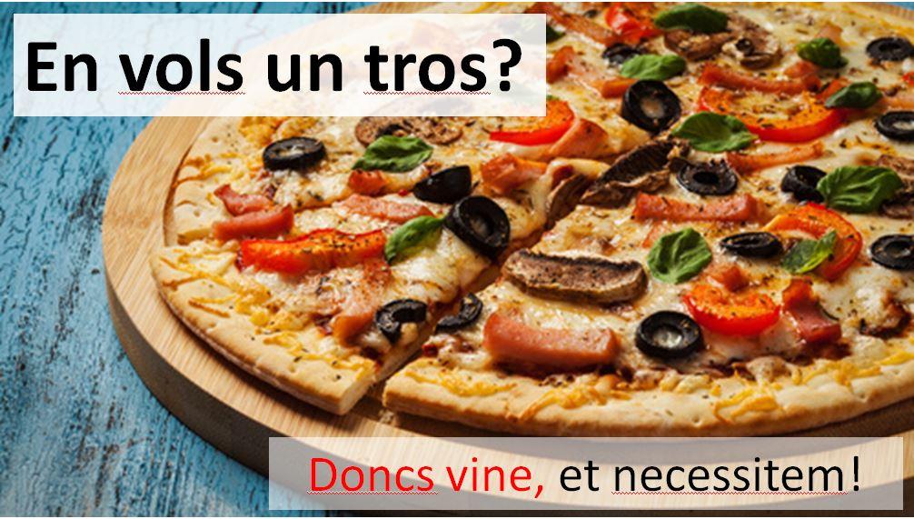 Pizza per al Focus Group