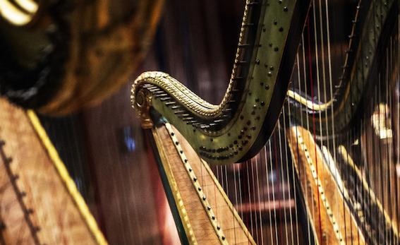 Harpes du Musée de la Cité de la Musique