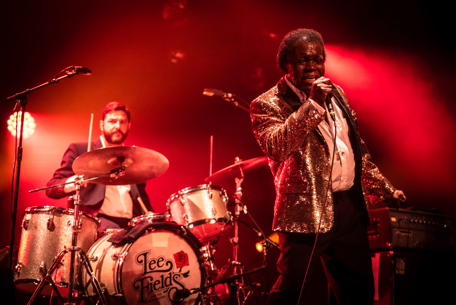 Lee Fields & The Expressions. © M. Guthfreund. Cité de la Musique - Philharmonie de Paris