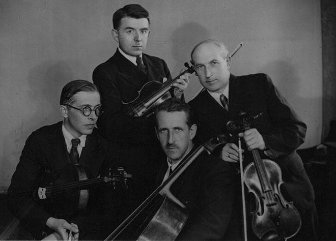 Le Quatuor Beethoven, Moscou, 1946. Bakastra.sdf.org