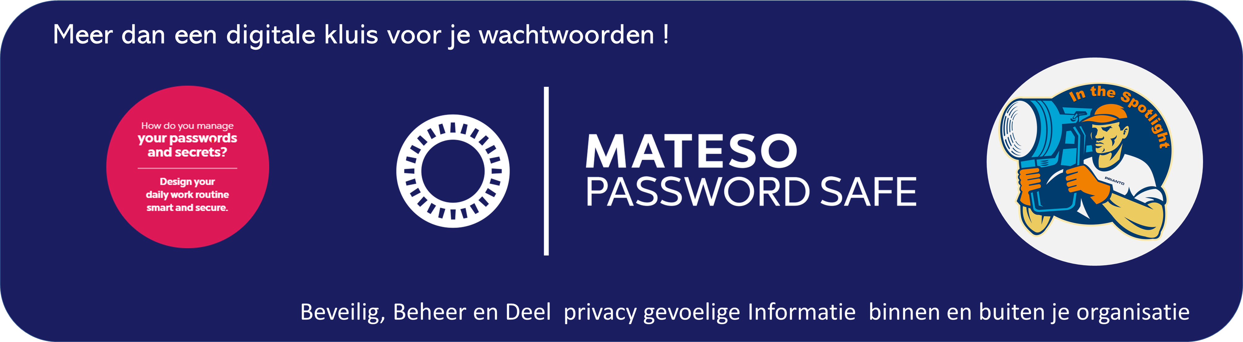 Productpagina Mateso Password Safe