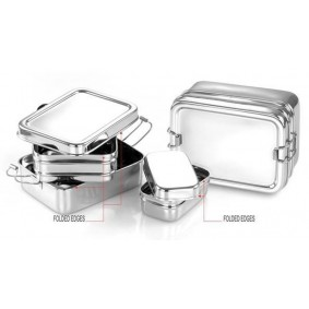 Steel lunch boxes