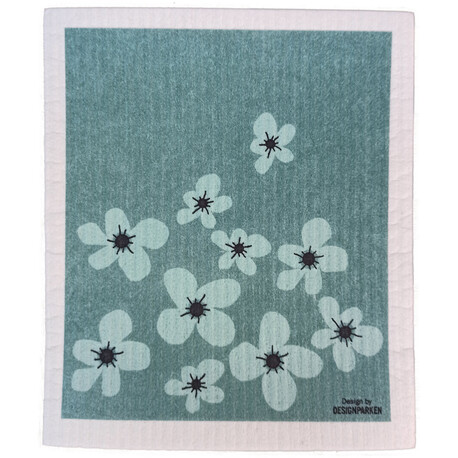 Poppy dish cloth