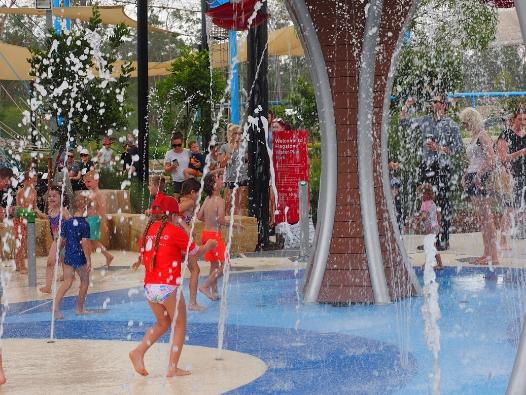 Flagstone Water Play