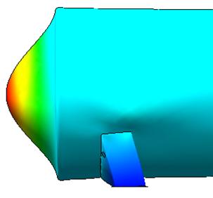 Horizontal cylindrical SuperVault Tank