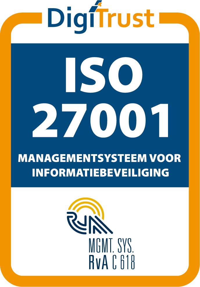 ISO 27001 keurmerk