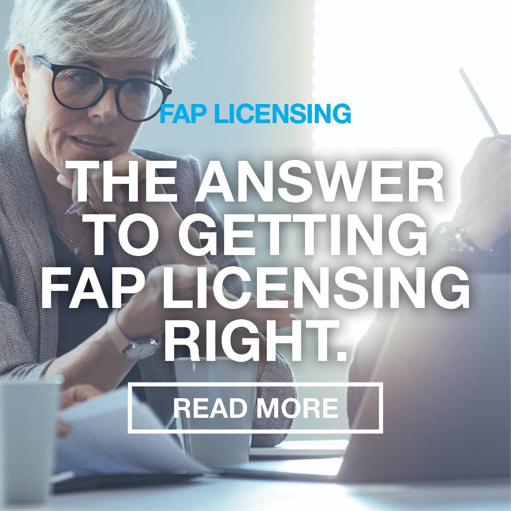FAP licencing image