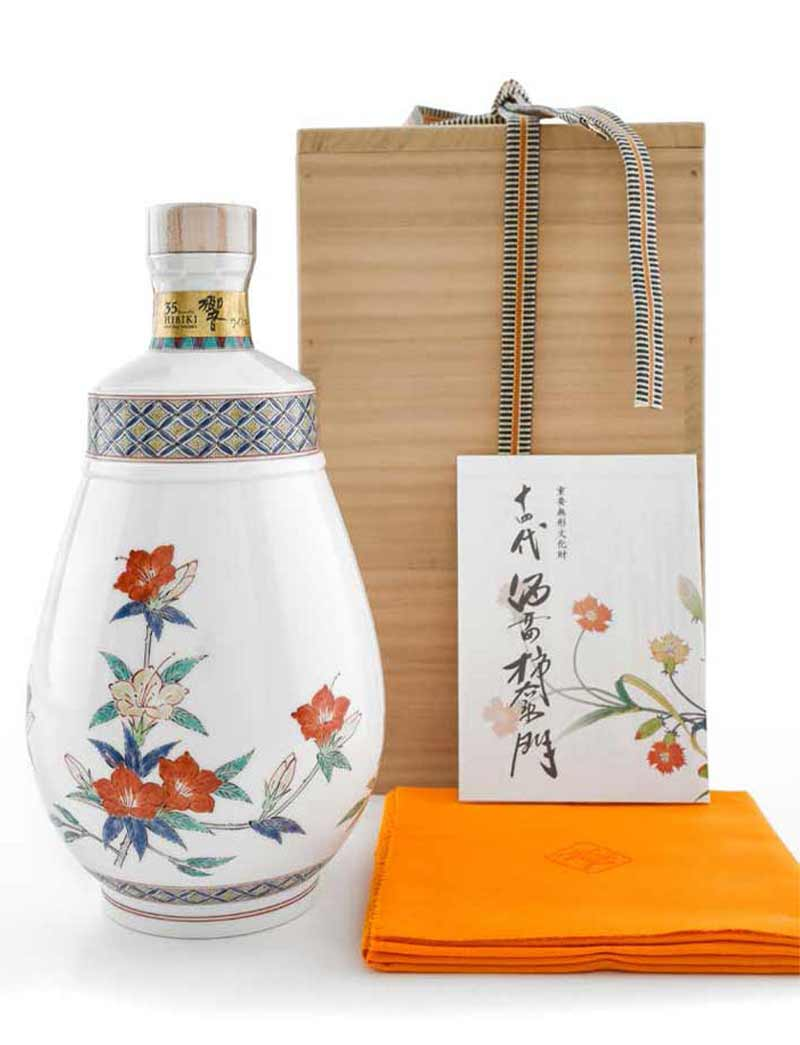 Lot 457: 1 700ml Hibiki Blended Japanese Whisky, 35 Years, Sakaida Kakiemon XIV Decanter