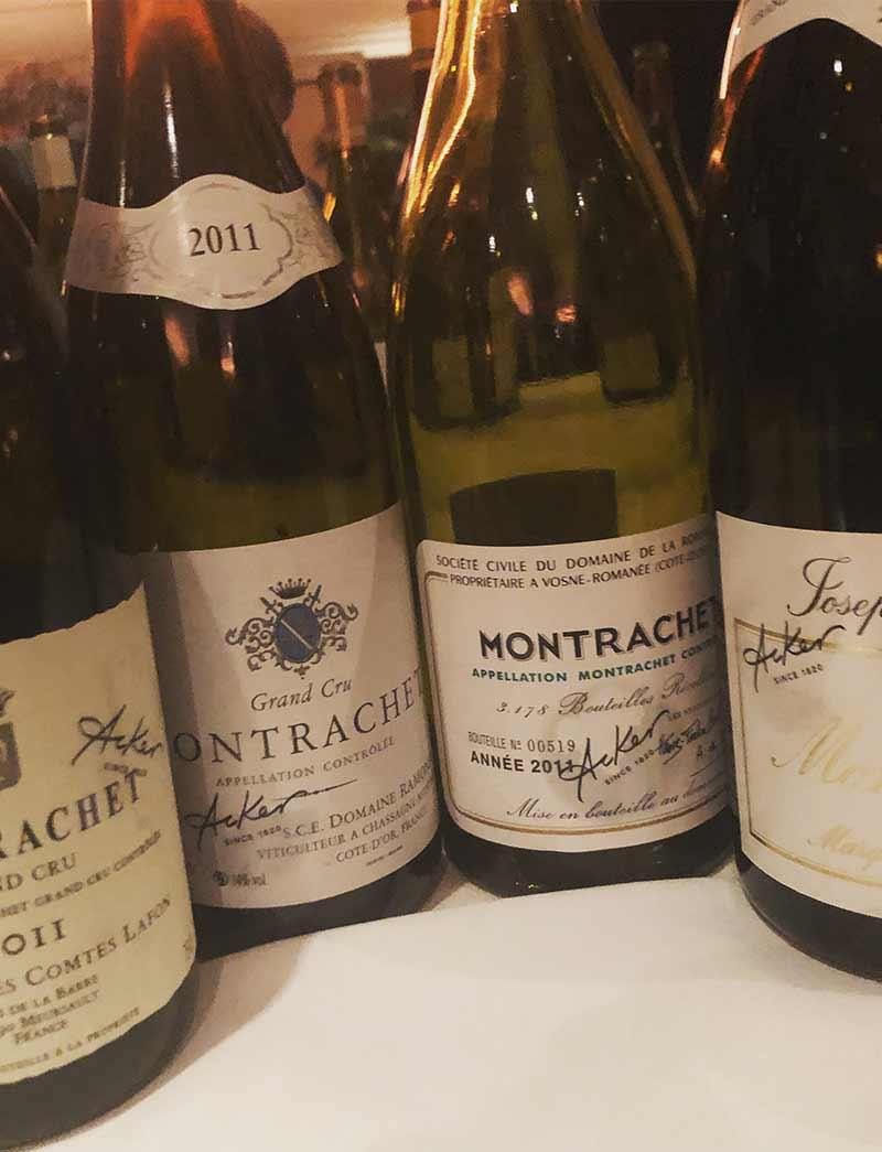Montrachet Matchup