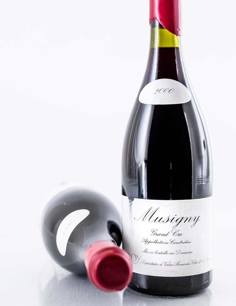 Lot 954: 2 bottles 2000 Domaine Leroy Musigny