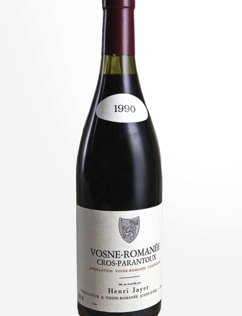 Lot 15922: 1 bottle 1990 H. Jayer Vosne Romanee Cros Parantoux