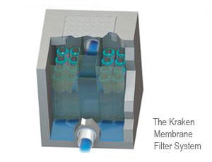 Kraken stormwater filter