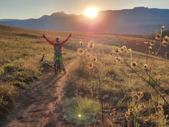 Drakensberg Trails Sunset