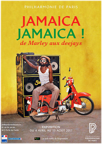 Affiche de l'exposition Jamaïca Jamaïca !