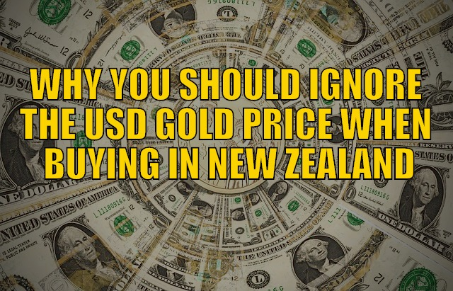 Ignore the USD Gold Price