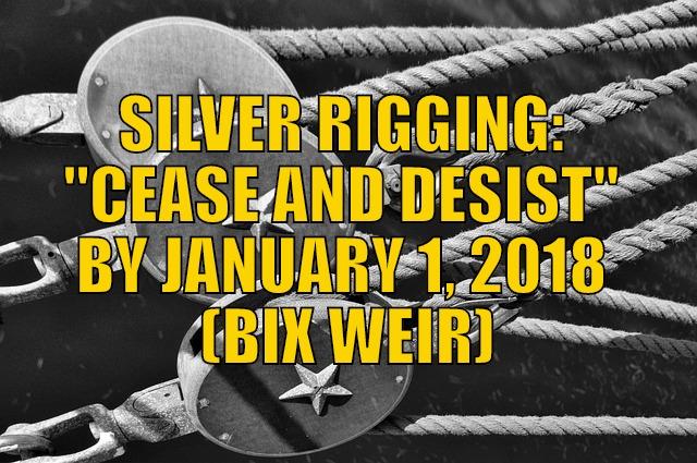Silver rigging