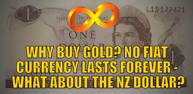 Why Buy Gold? No Fiat Currency Lasts Forever - What About the NZ Dollar?