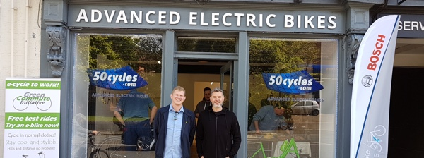 50cycles Altrincham opening