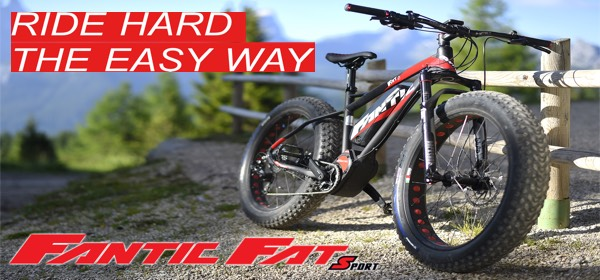 Fantic Fat Electric Bikes