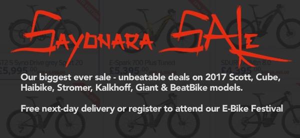 Sayonara Sale Begins