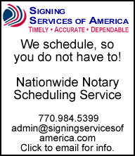 Signing Services of America